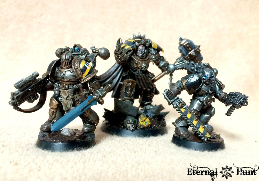 Champion, Chaos, Chaos Space Marines, Conversion, Iron Warriors, Killteam, Kitbash, Warhammer 40,000