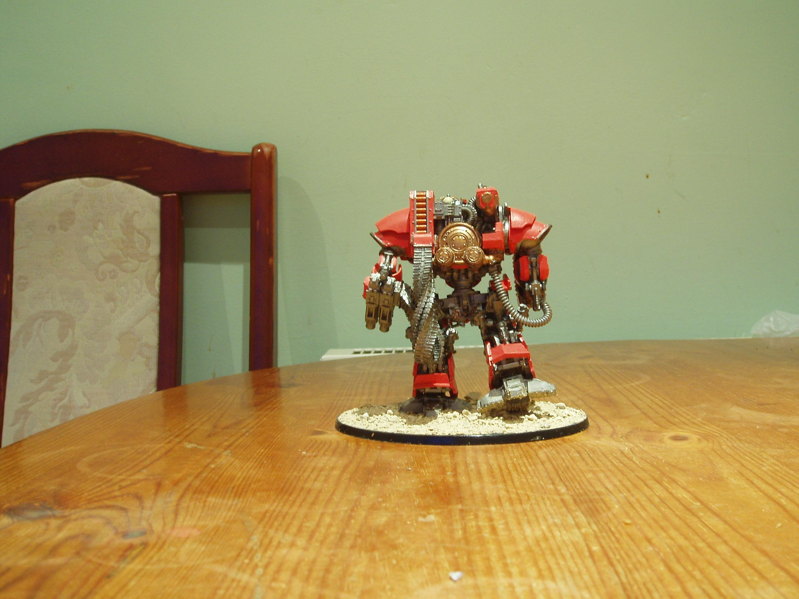 Calix, Mechanicum, Ordo Reductor, Siege Automata, Sollex Pattern Lascannon, Thanatar, Thanatar-calix