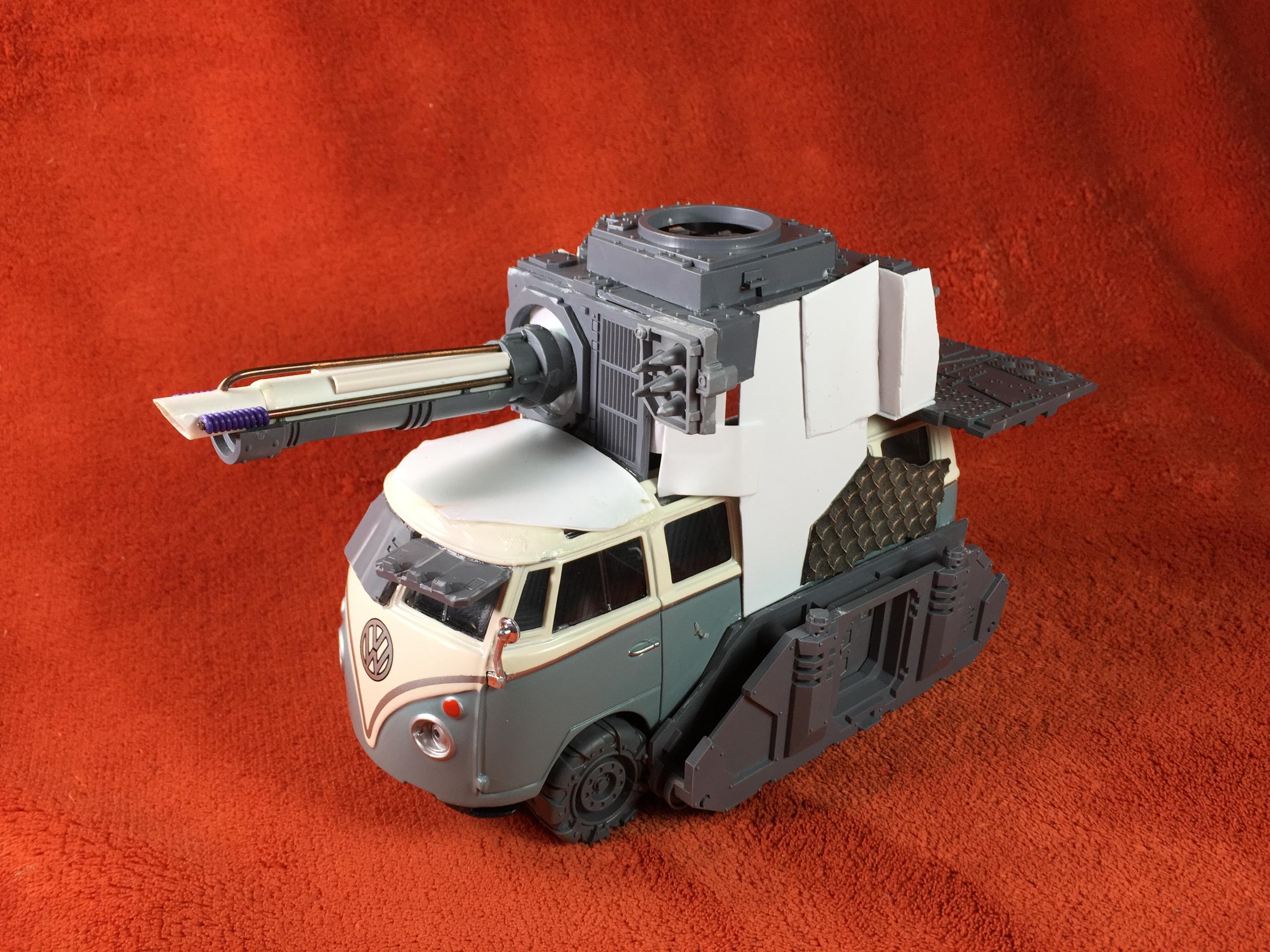 Battlewagon, Bus, Orks, Vw
