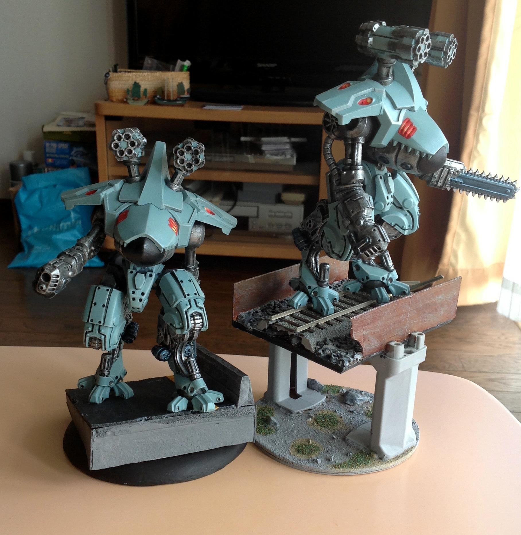 Cybertronic, Eradicator Deathdroid, Warzone