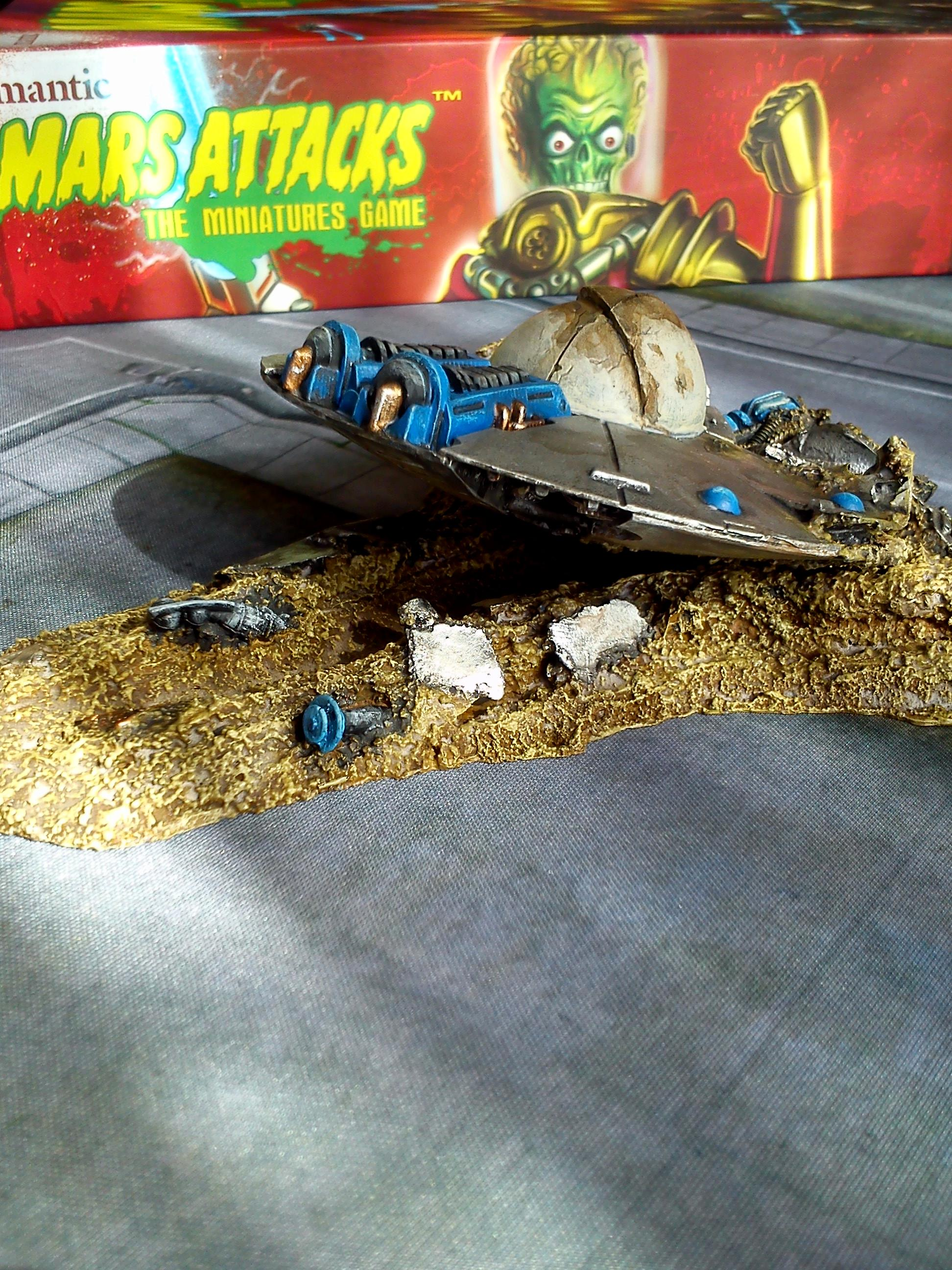 crashed saucer