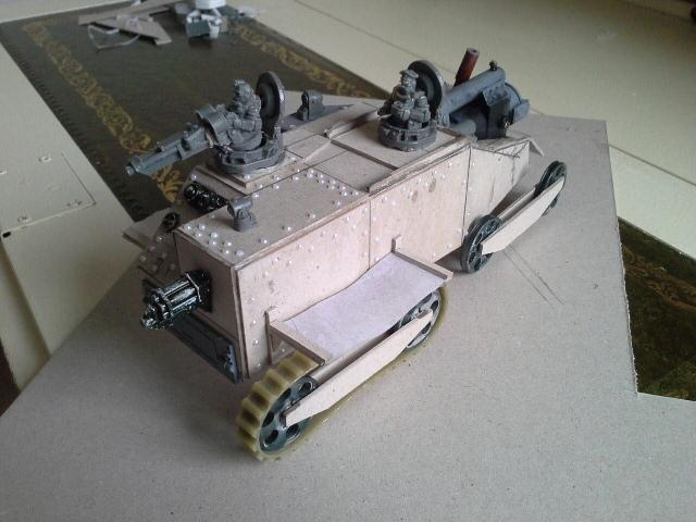 Rivets, Steampunk, Tank