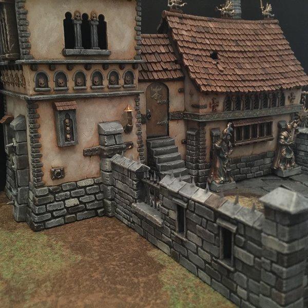 House, Manor House, Terrain