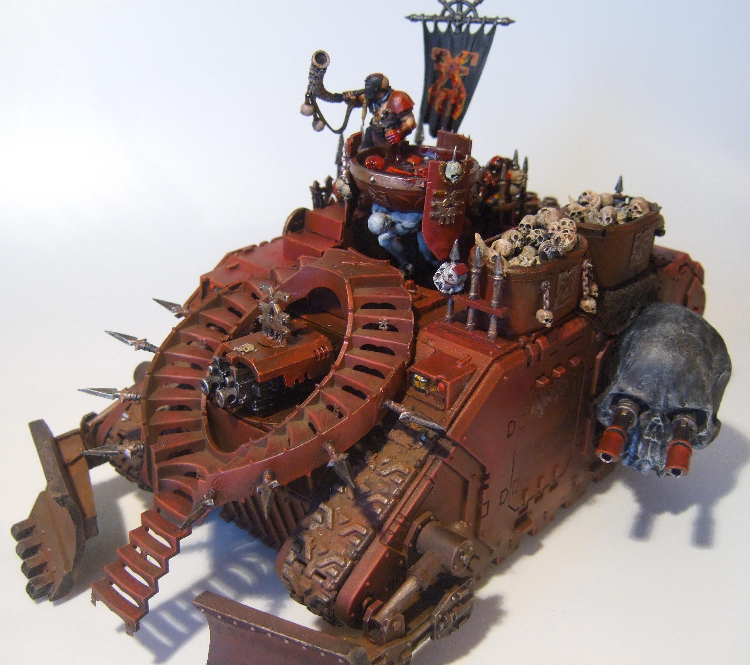 Blood, Chaos Space Marines, Khorne, Over The Top, Skull