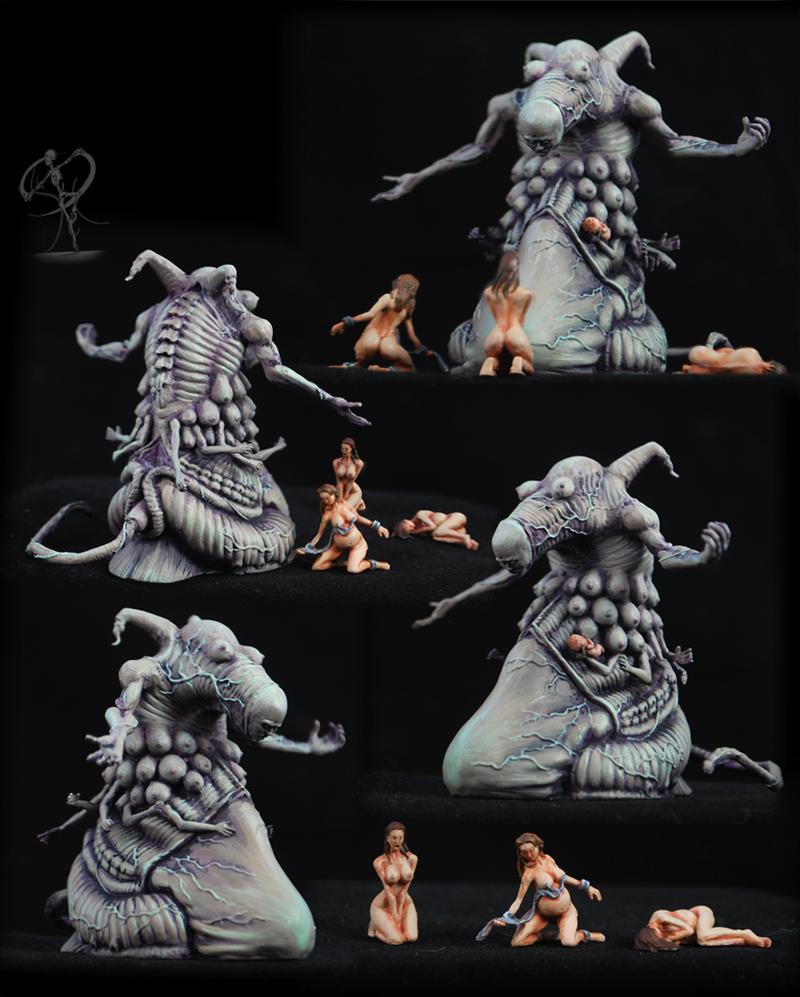 Body Horror Monster Art