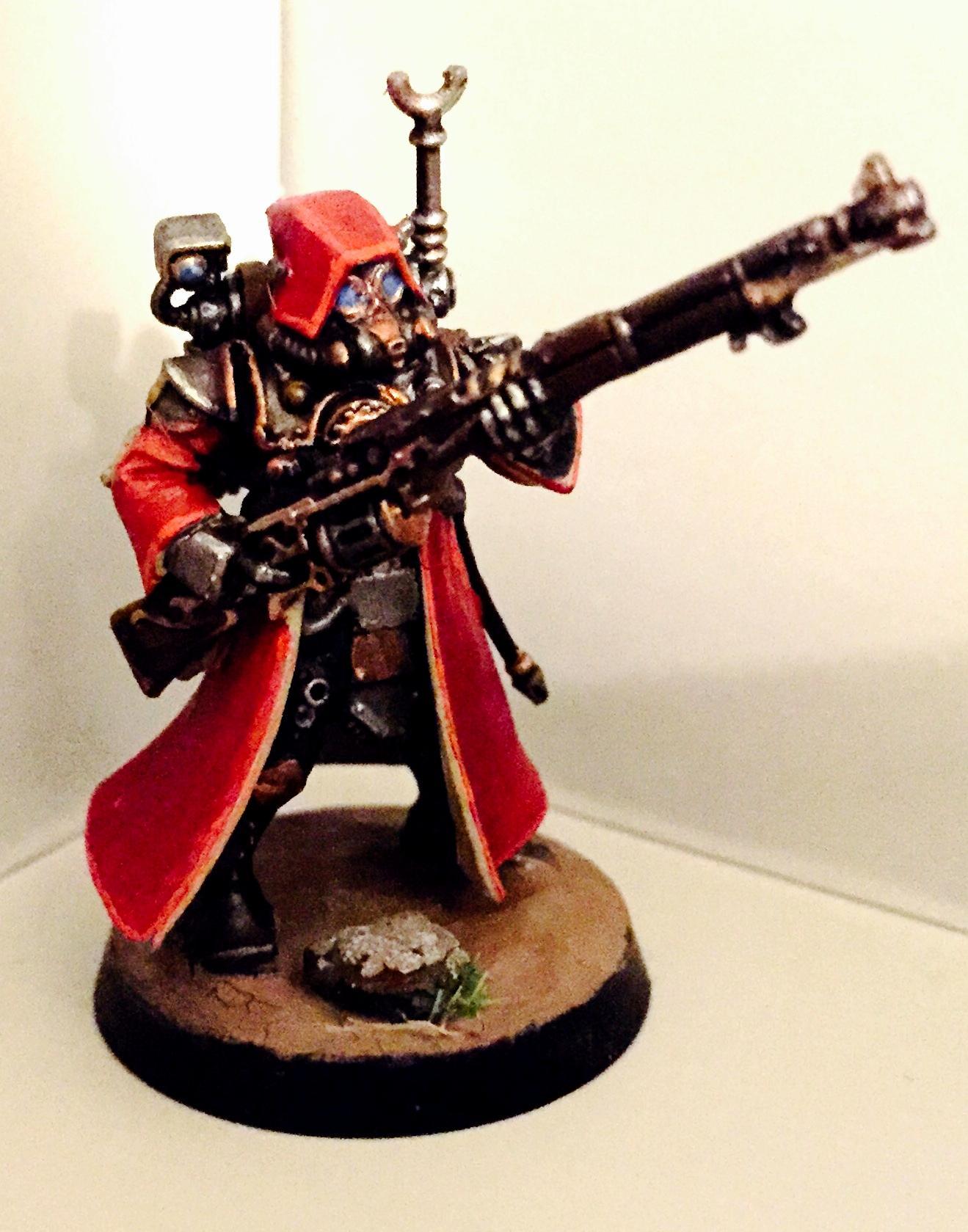 Adeptus Mechanicus. Mud, Gas Mask, Rangers, Skitarii, Skitarii Ranger