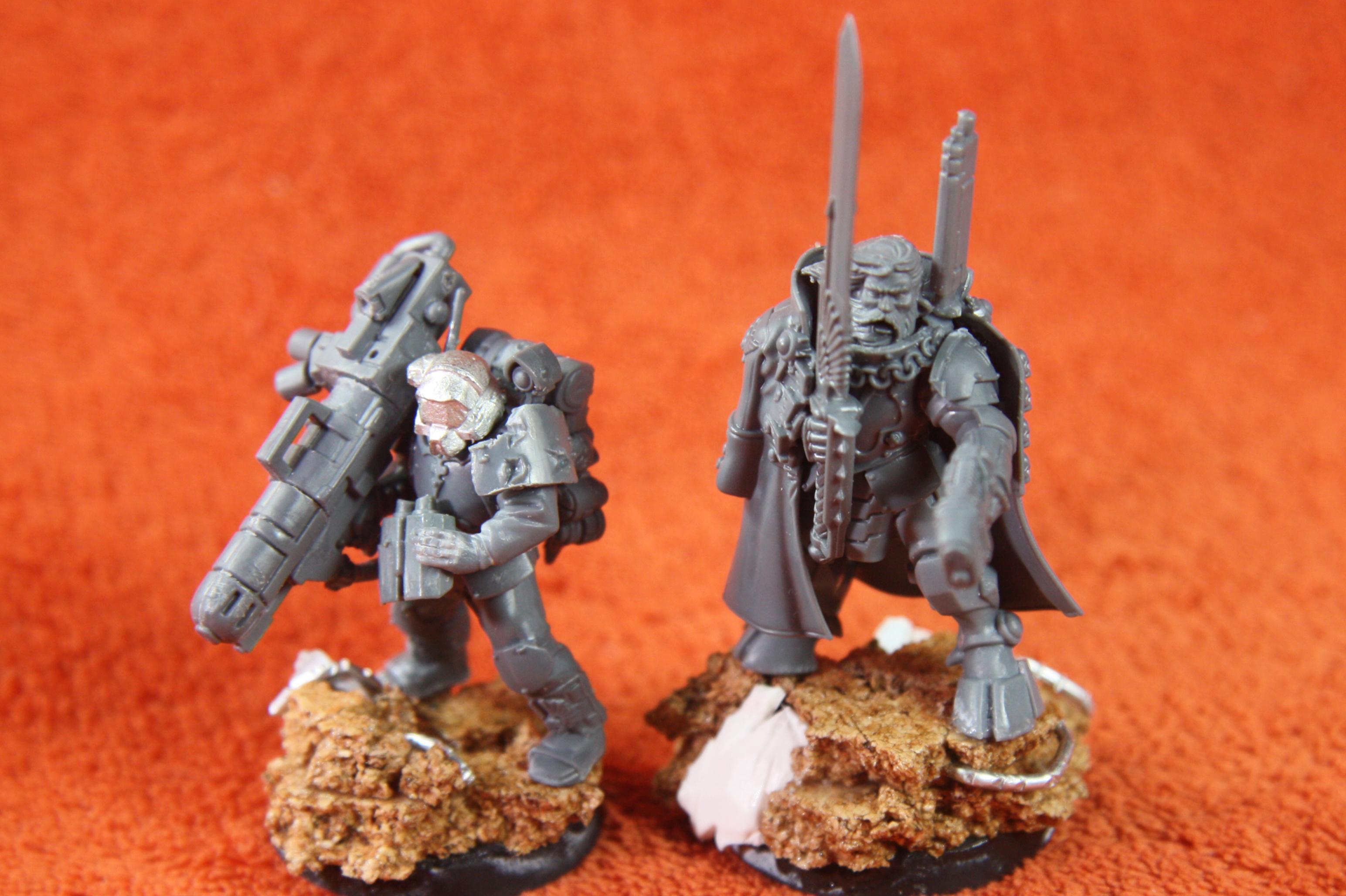 Imperial Guard, Scion, Tau