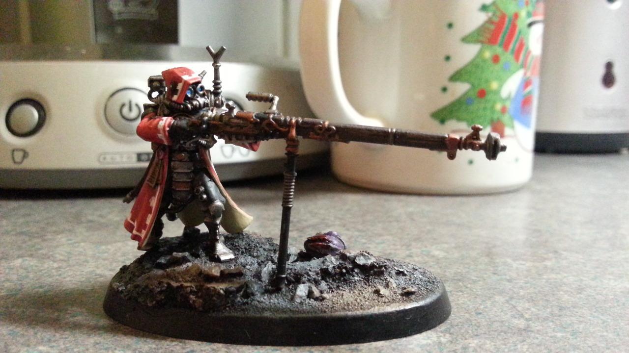 Skitari Ranger, Arquebus