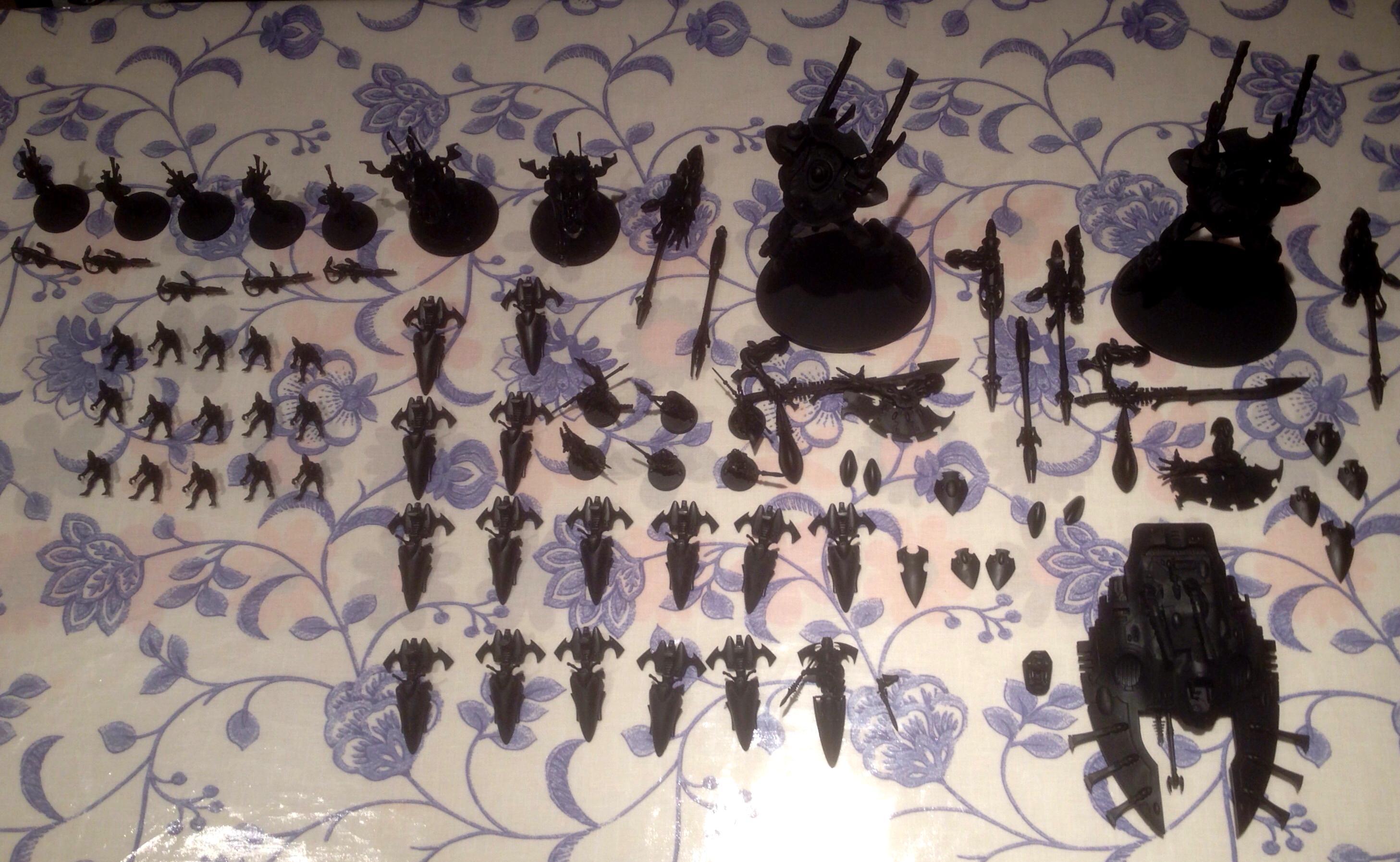 Eldar, Iyanden, Jet Bikes, Work In Progress, Wraith