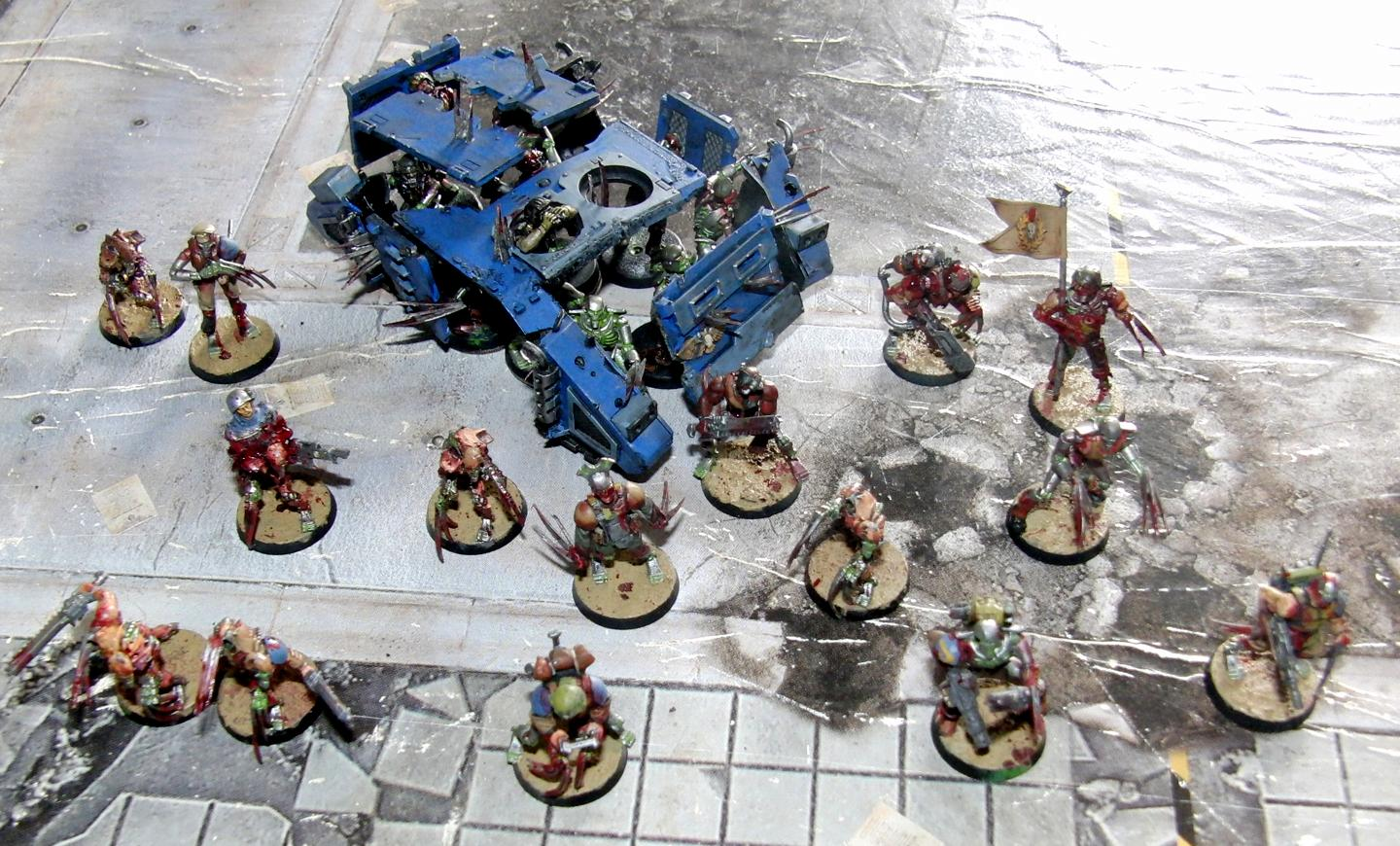 Blanche, Blood, Conversion, Flayed, Flesh, Imperial Guard, Necrons, Warhammer 40,000