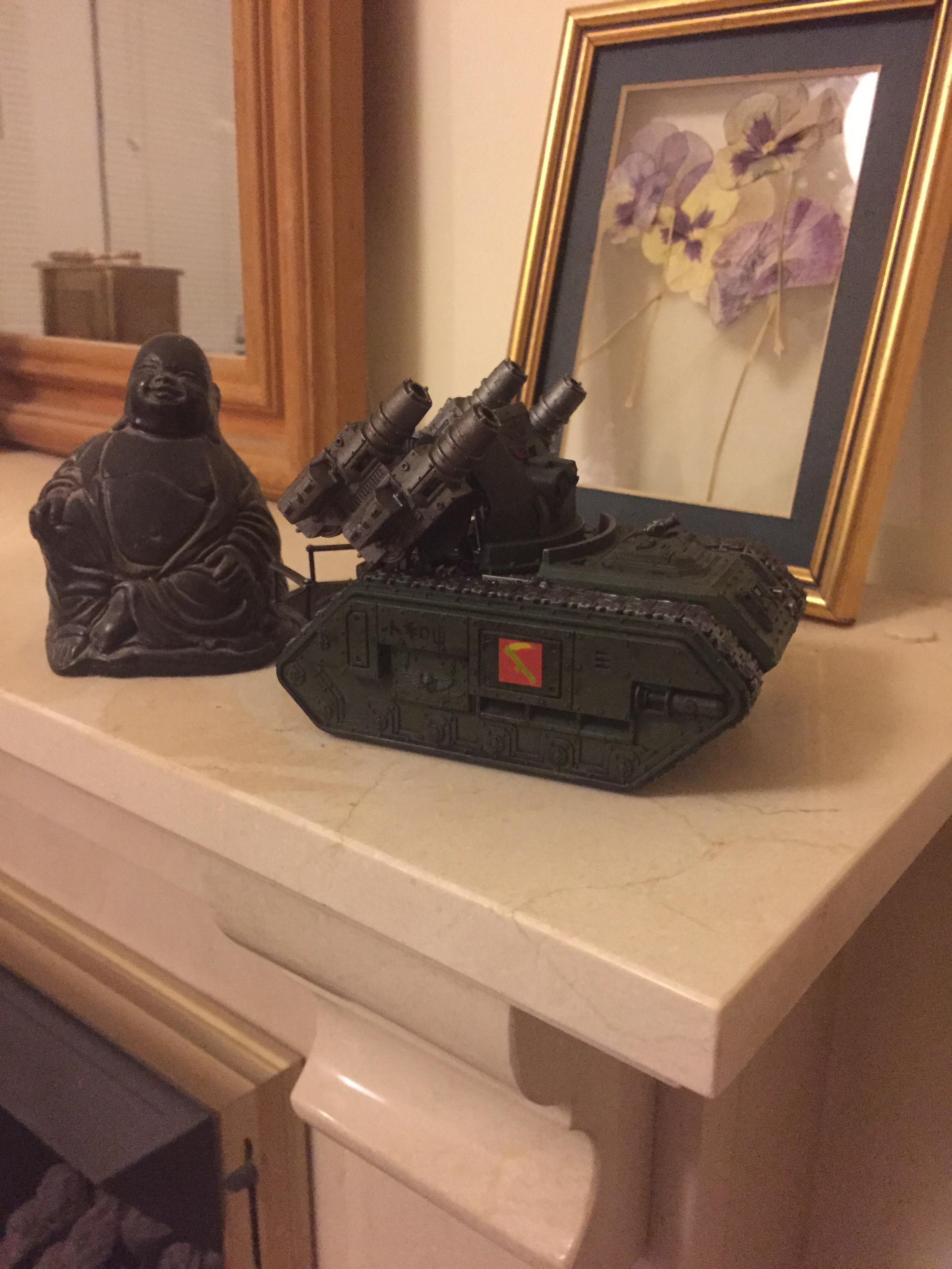 Buddha, China, Chinese, Guard, Imperial, Imperial Guard, Mortar, Stormshard, Tank, Weathered, Wyvern