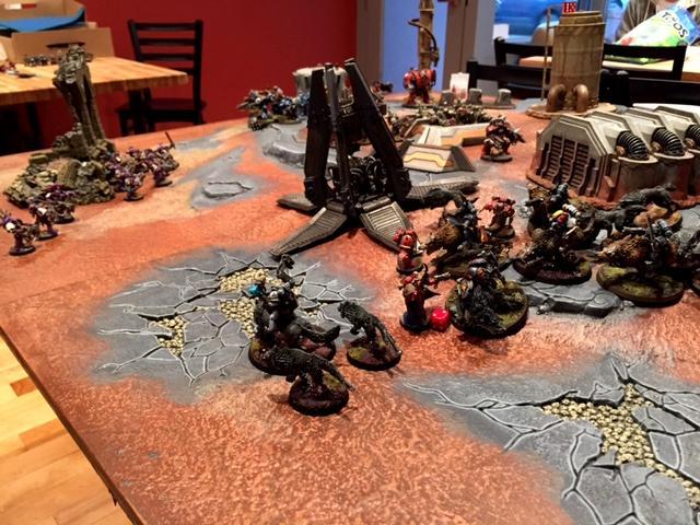 League, Warhammer 40,000