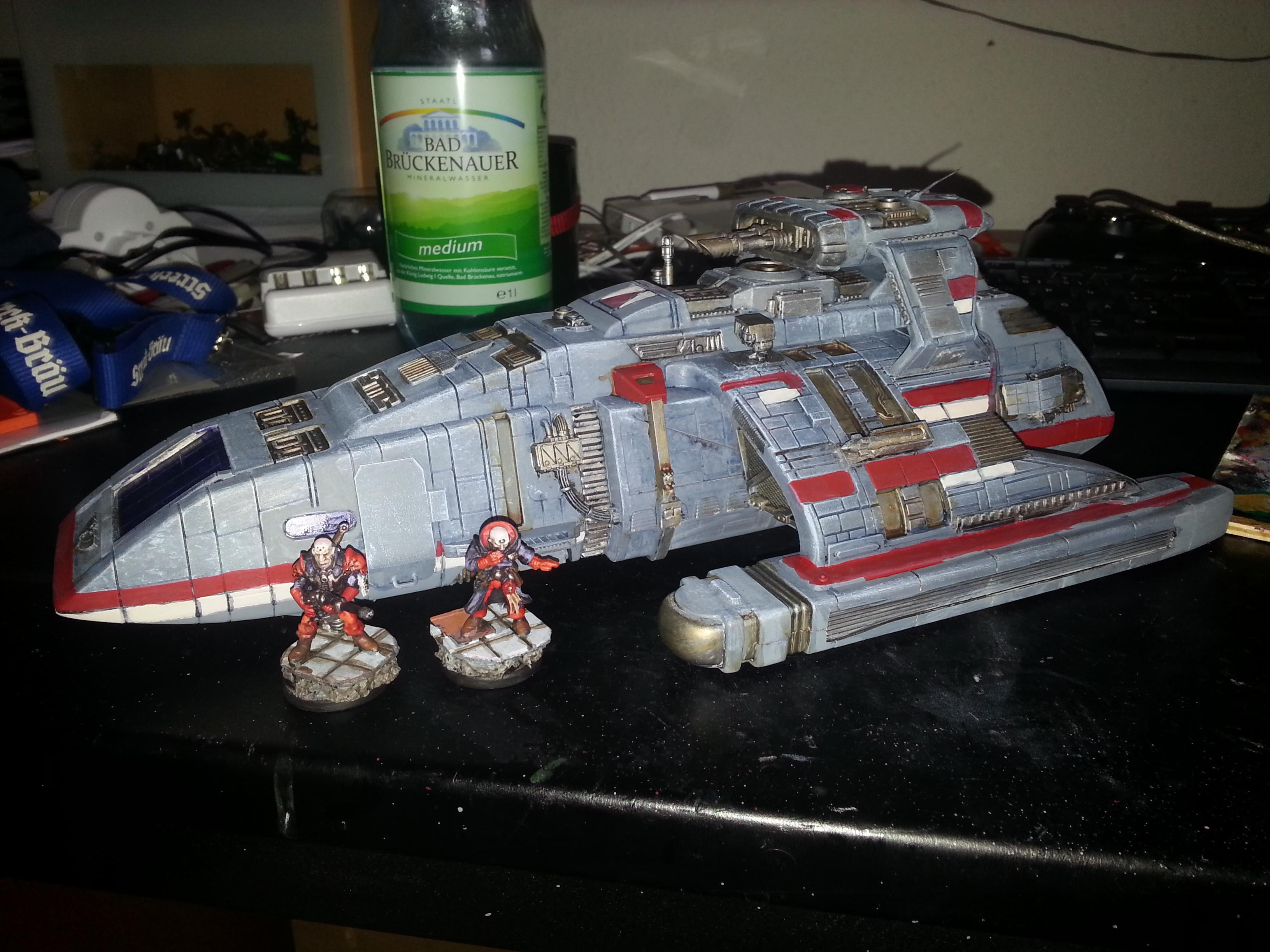 Flyer, Gunship, Runabout, Shuttle, Star Trek, Storm Raven