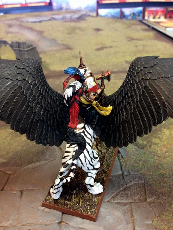 Deathclaw, Empire, Karl Franz, Warhammer Fantasy