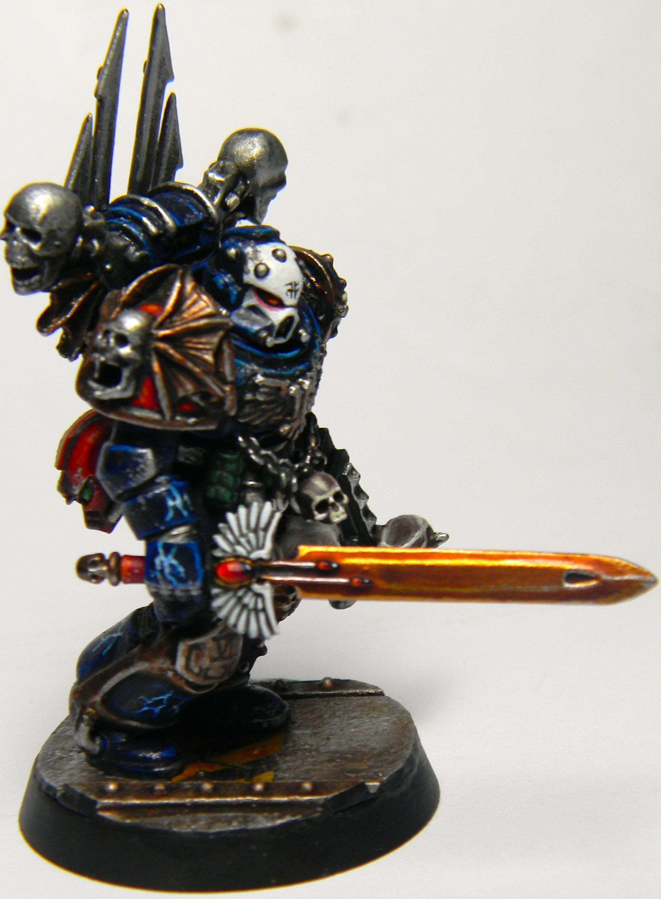 Black Library, Chaos, Conversion, Cyrion, First Claw, Night Lords, Space Marines, Talos, True Scale, Warhammer 40,000