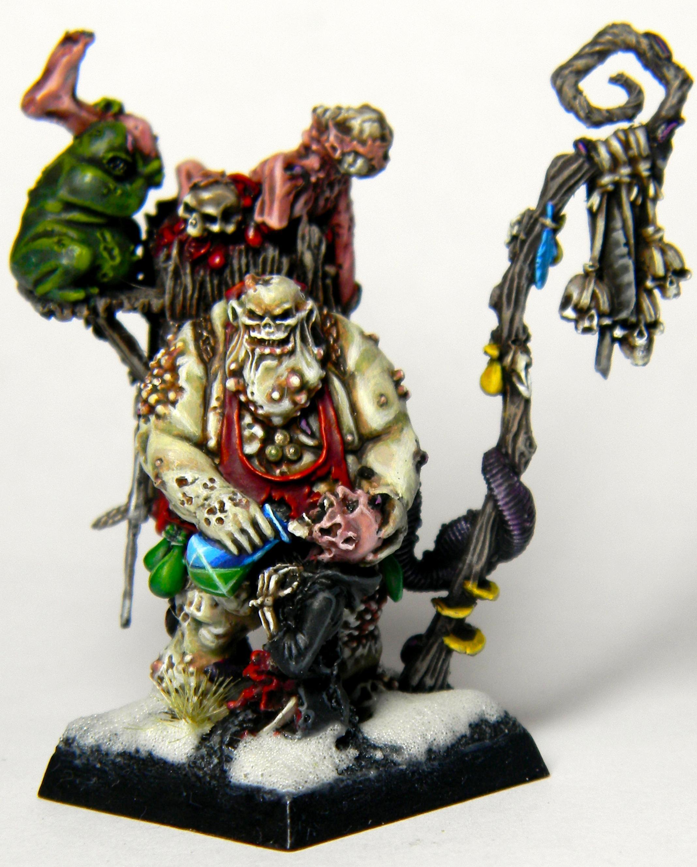 Chaos, Fantasy Warhammer, Festus, Nurgle, Sorcerer, Warriors