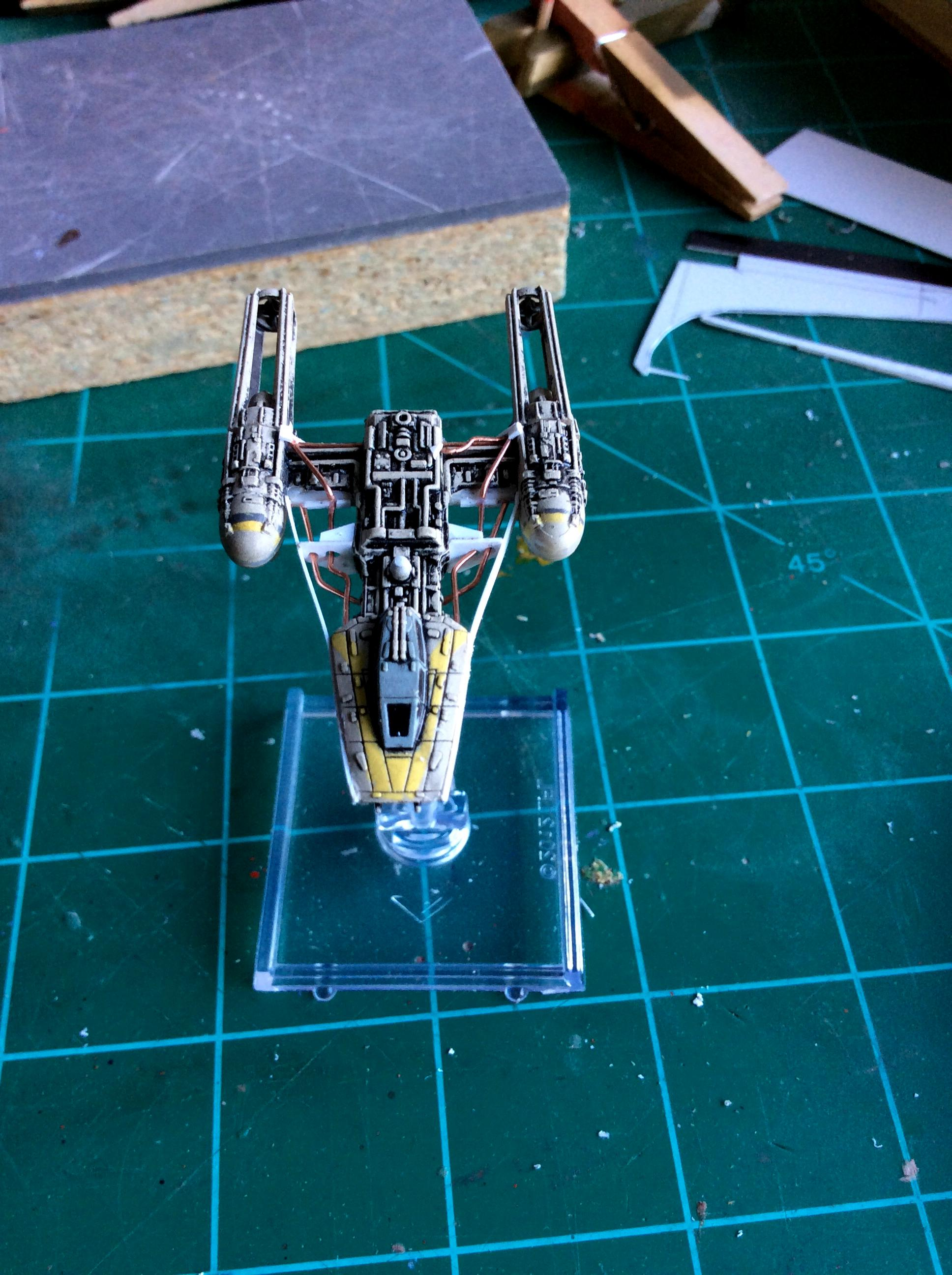 1:270, Jaffamaster, Miniatures Game, Star Wars, X-Wing, Y-wing