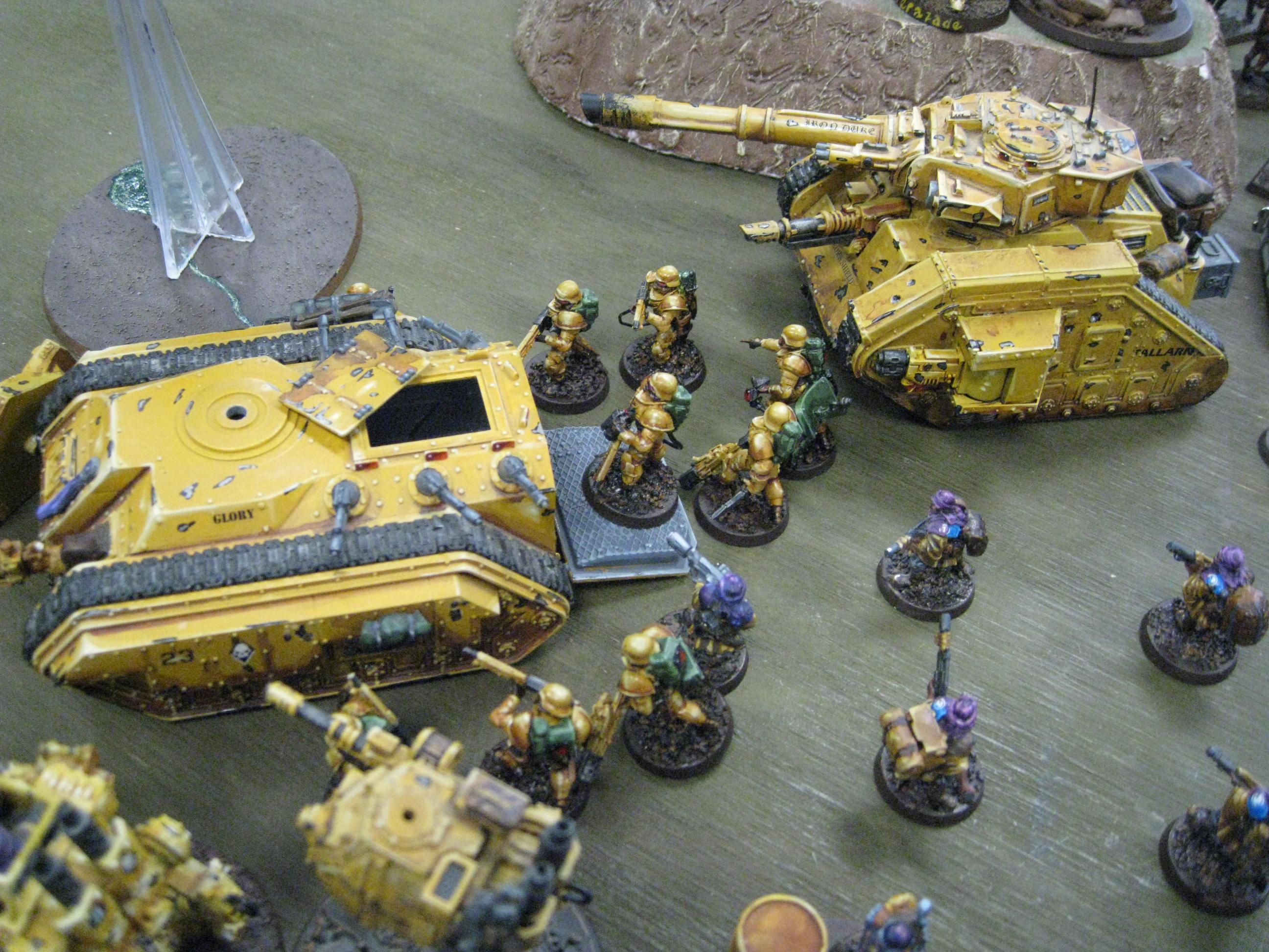 Astra Militarum, Imperial Guard, Tallarn Desert Raiders