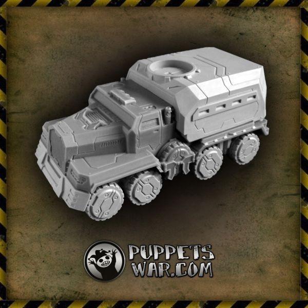 Civilian, Puppets War, Truck