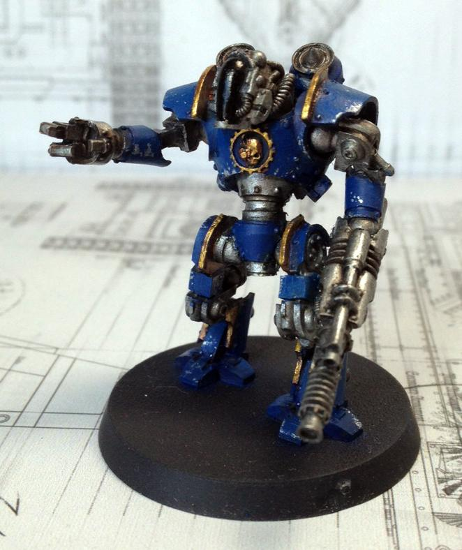 Ad Mech, Conversion, Forge World, Mechanicus, Robot, Thallax, Warhammer 40,000