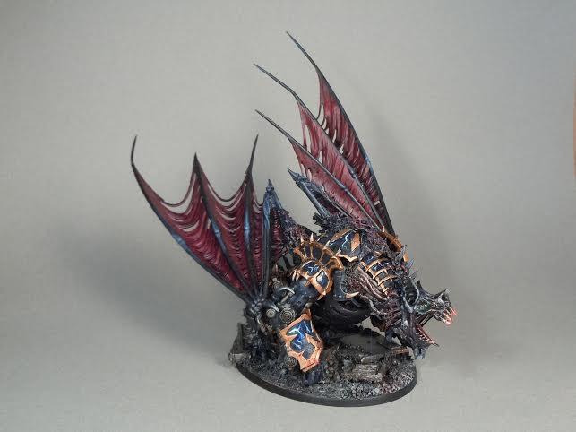 Chaos Space Marines, Conversion, Maulerfiend, Night Lords