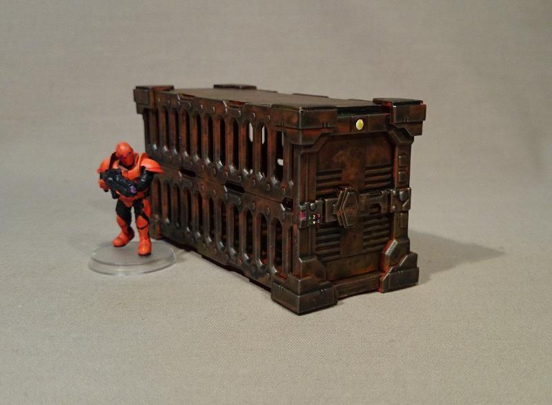 Container, Maelstrom's Edge, Medge, Terrain