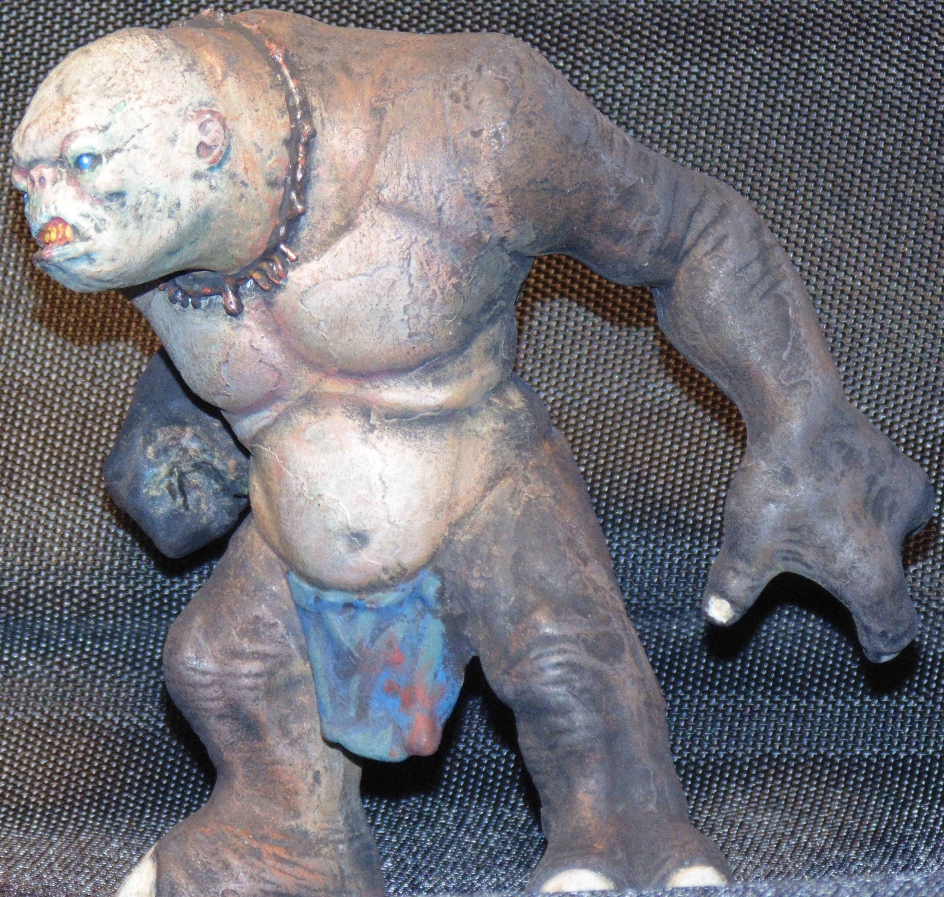 Ape, Cave, Conversion, Dead, Lord Of The Rings, Magical, Repaint, Repainted, Troll