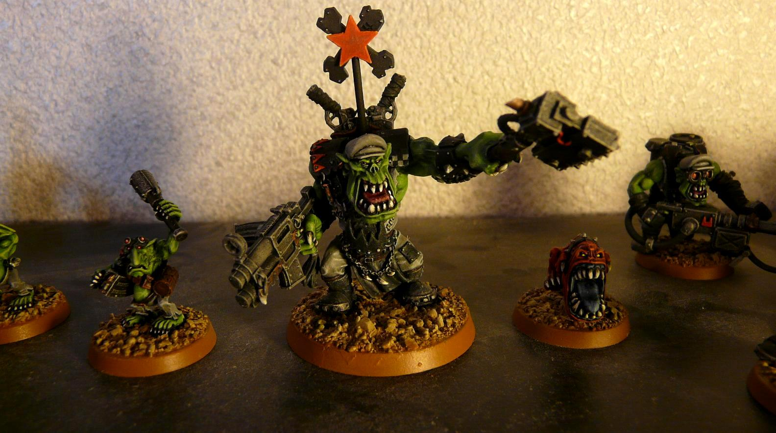 Ammo Runt, Attack Squig, Blood Axe, Orks, Soviet