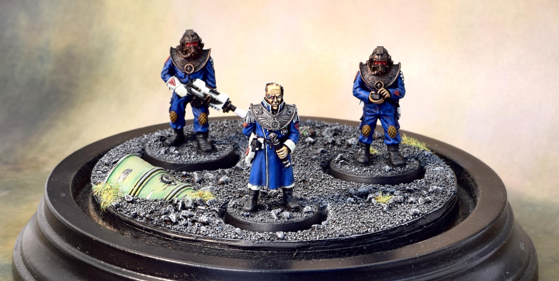 Forge World, Princeps, Titan Crew, Whites
