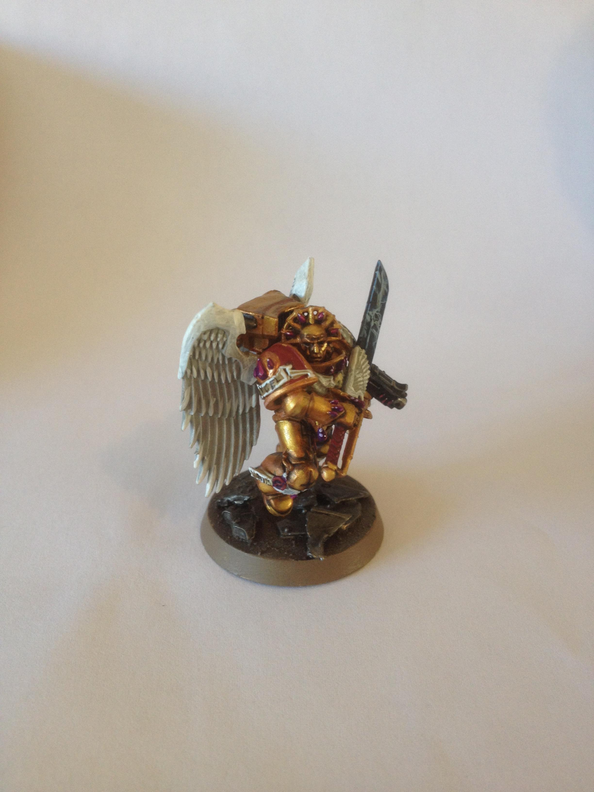 Blood Angels, Lightning, Power Sword, Sanguinary Guard