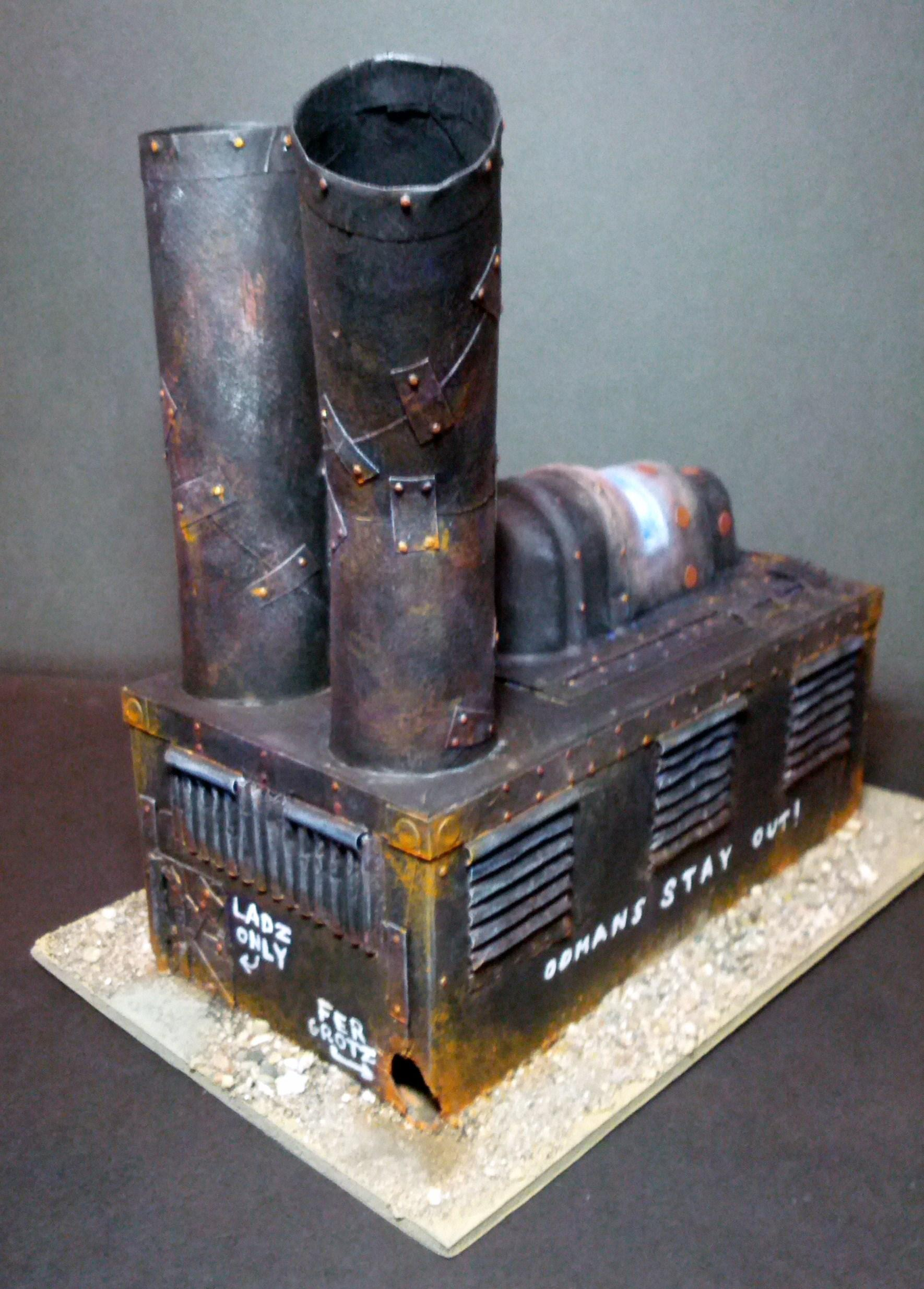 Orks, Plasma, Rust, Scratch Build, Terrain