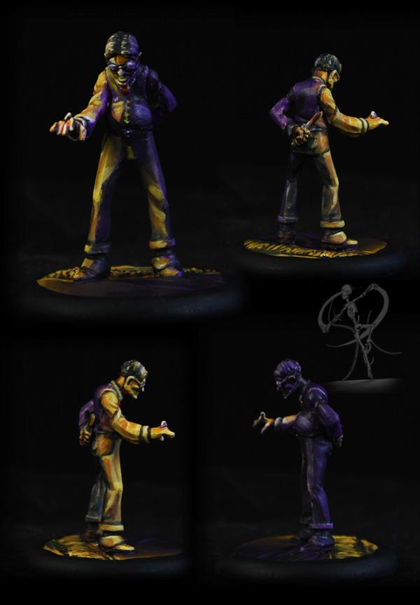 Cooler, Directional Lighting, Horrors, Malifaux, Neverborn, Object Source Lighting, Ten Thunders, Wyrd