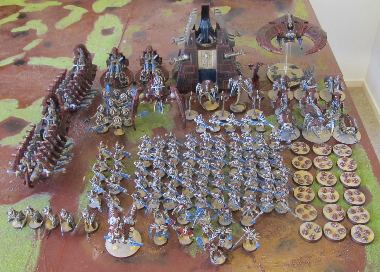 Necron Army done