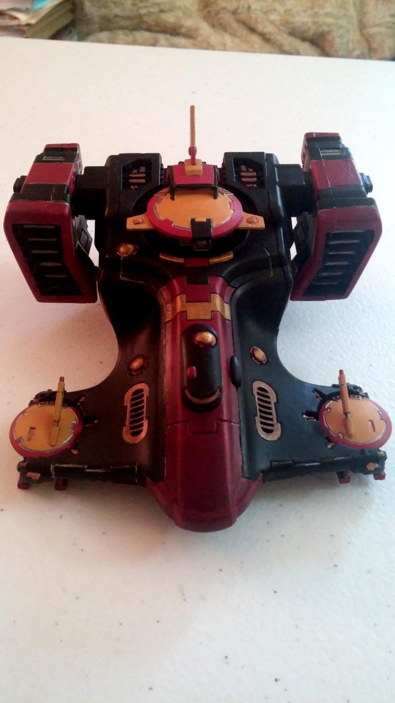 Devilfish, Gun Drone, Hammerhead, Pulse Carbine, Skyray, Tau