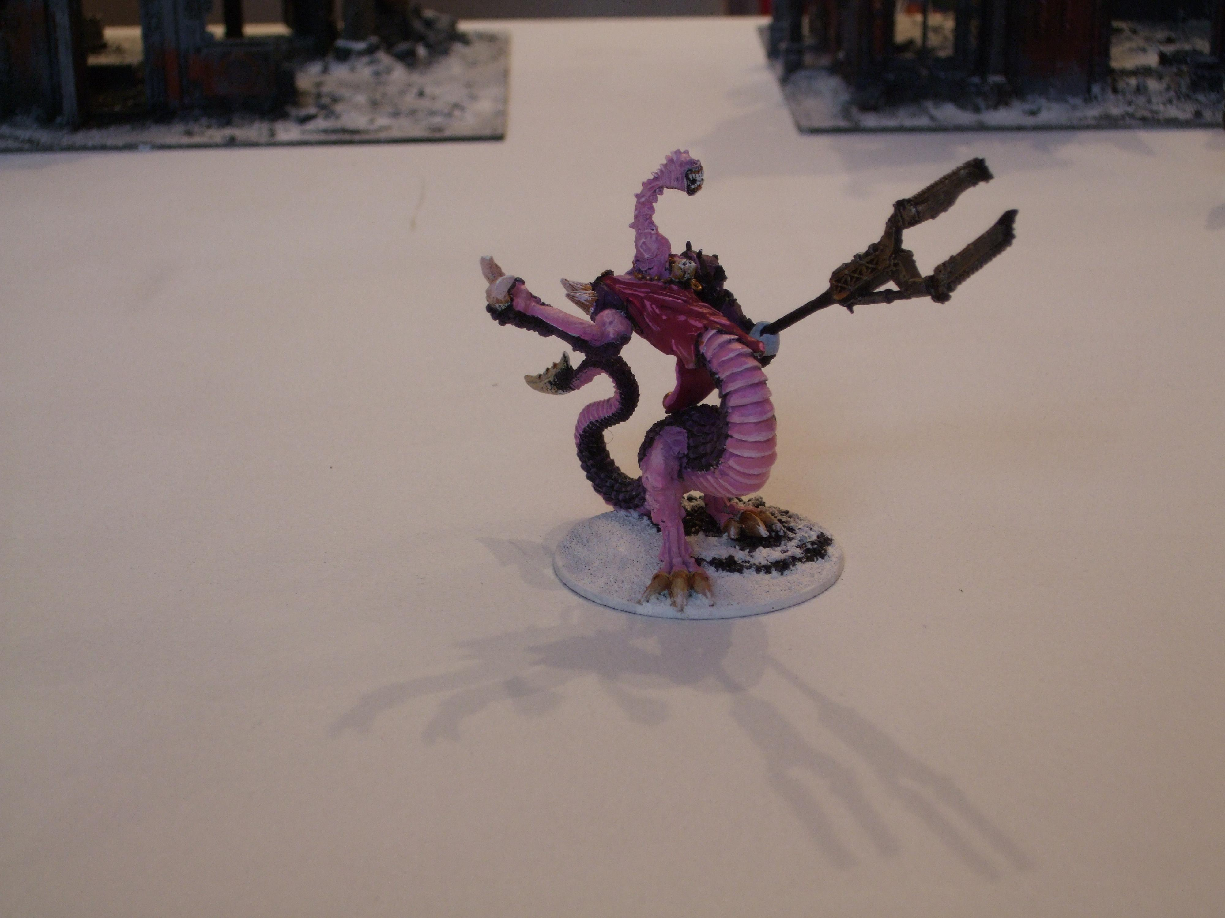 Chaos Space Marines, Emperor's Children, Pink, Purple, Slaanesh, Snow