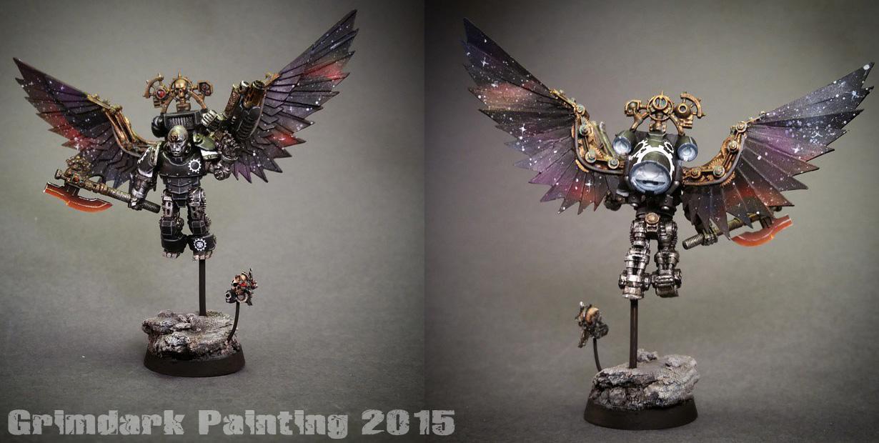 Angel, Asm, Clockwork, Clockwork Angel, Pro-painted, Space Marines