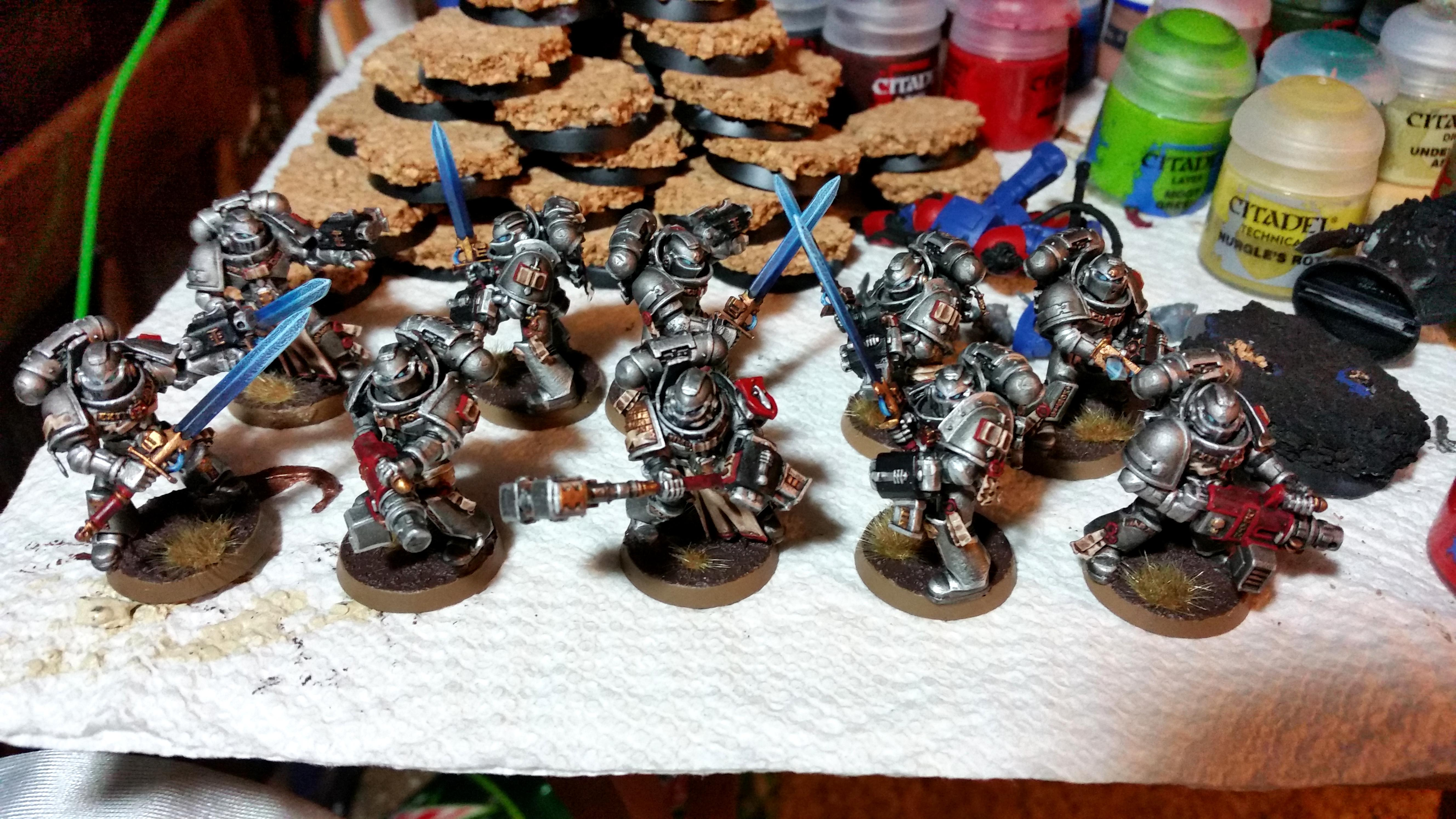 Gk, Grey, Knights, Troops