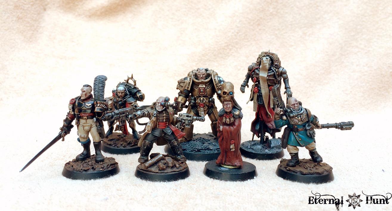 Conversion, Inq28, Inquisimunda, Inquisition, Inquisitor, Inquisitor 28, Kitbash, Retinue, Showcase, Warband, Warhammer 40,000