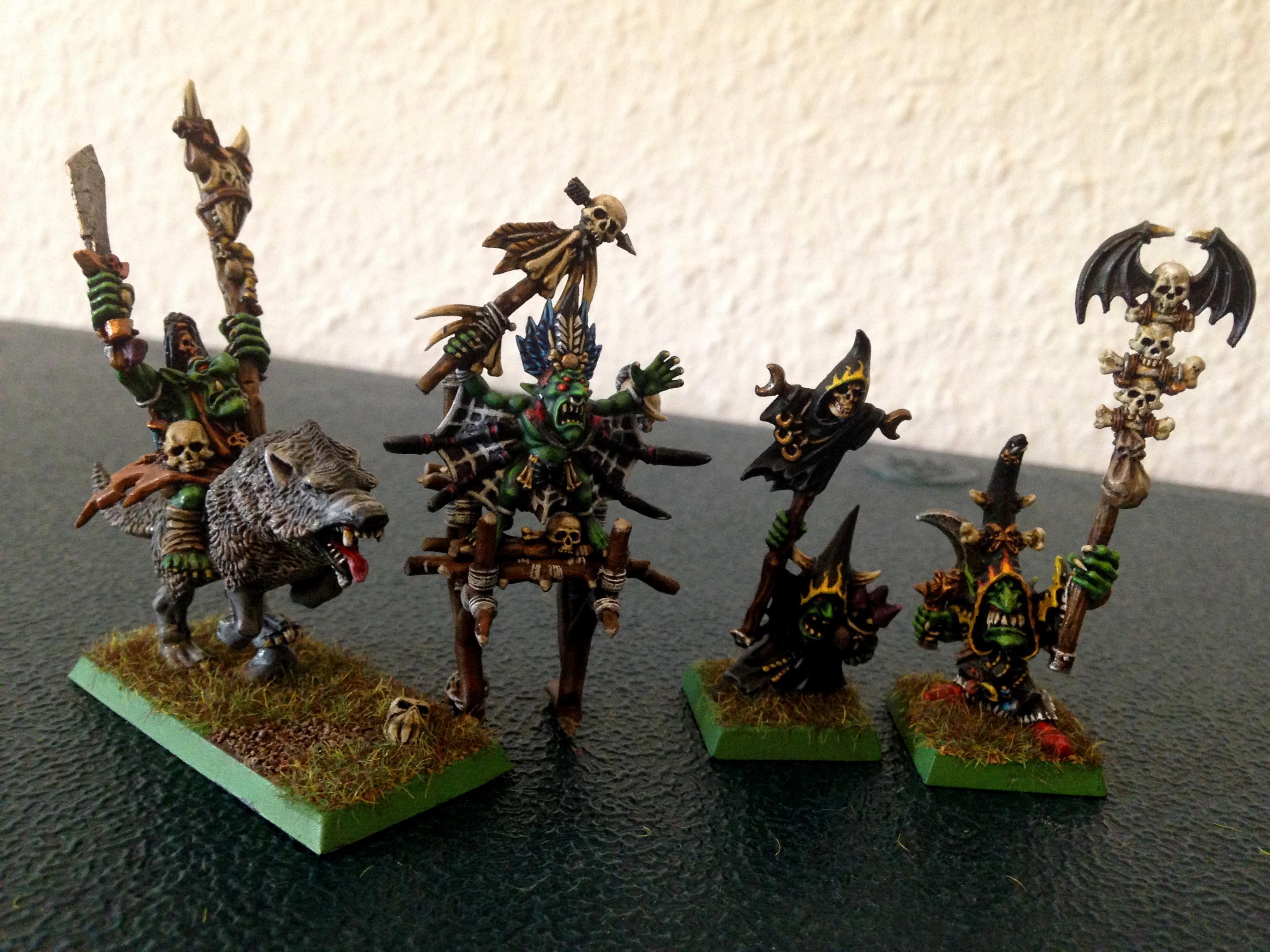 Goblin Shaman, Night Goblin Shaman, Orcs, Orcs And Goblins, Shaman, Warhammer Fantasy