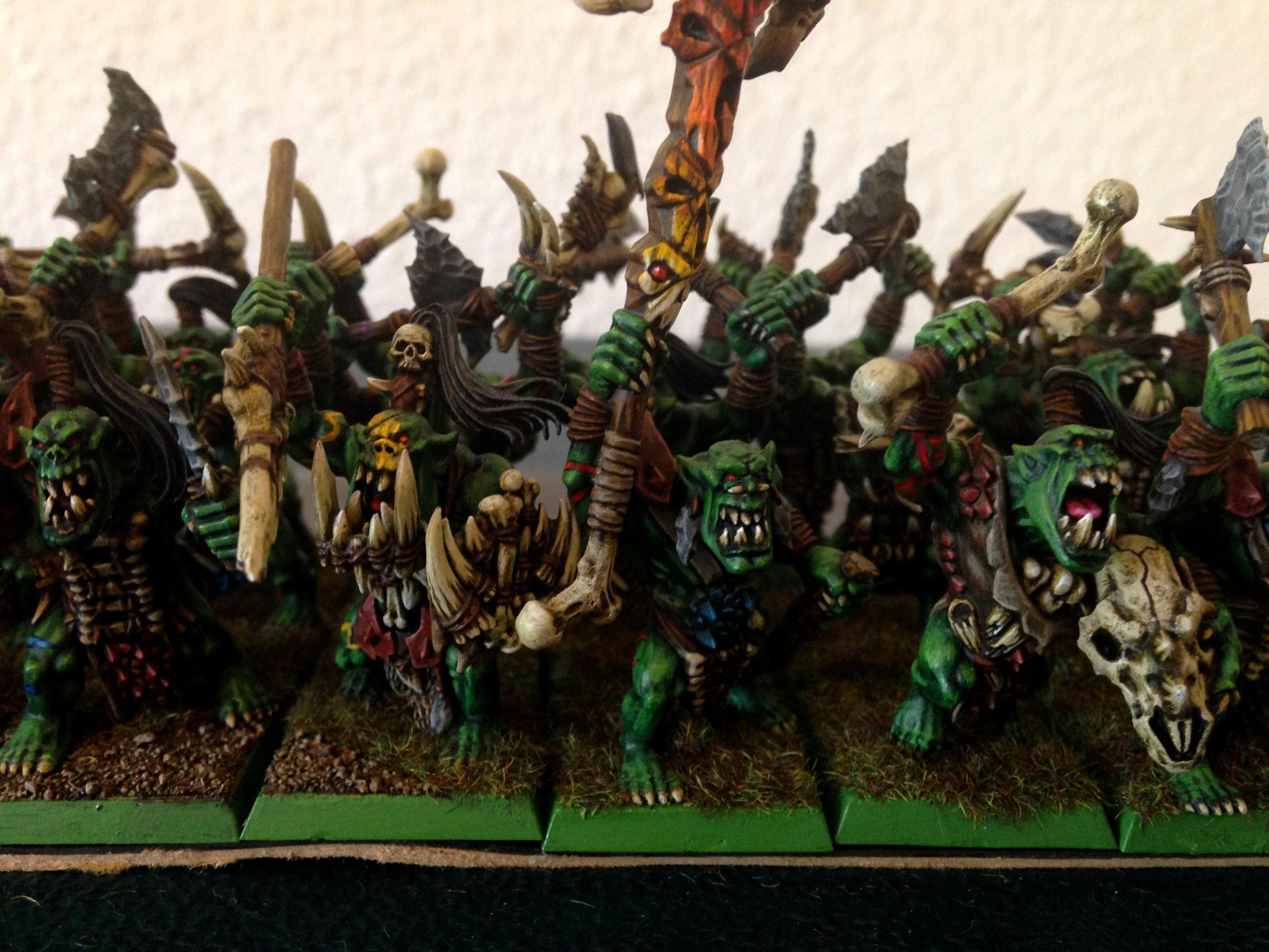 Orcs And Goblins, Savage Orcs, Warhammer Fantasy