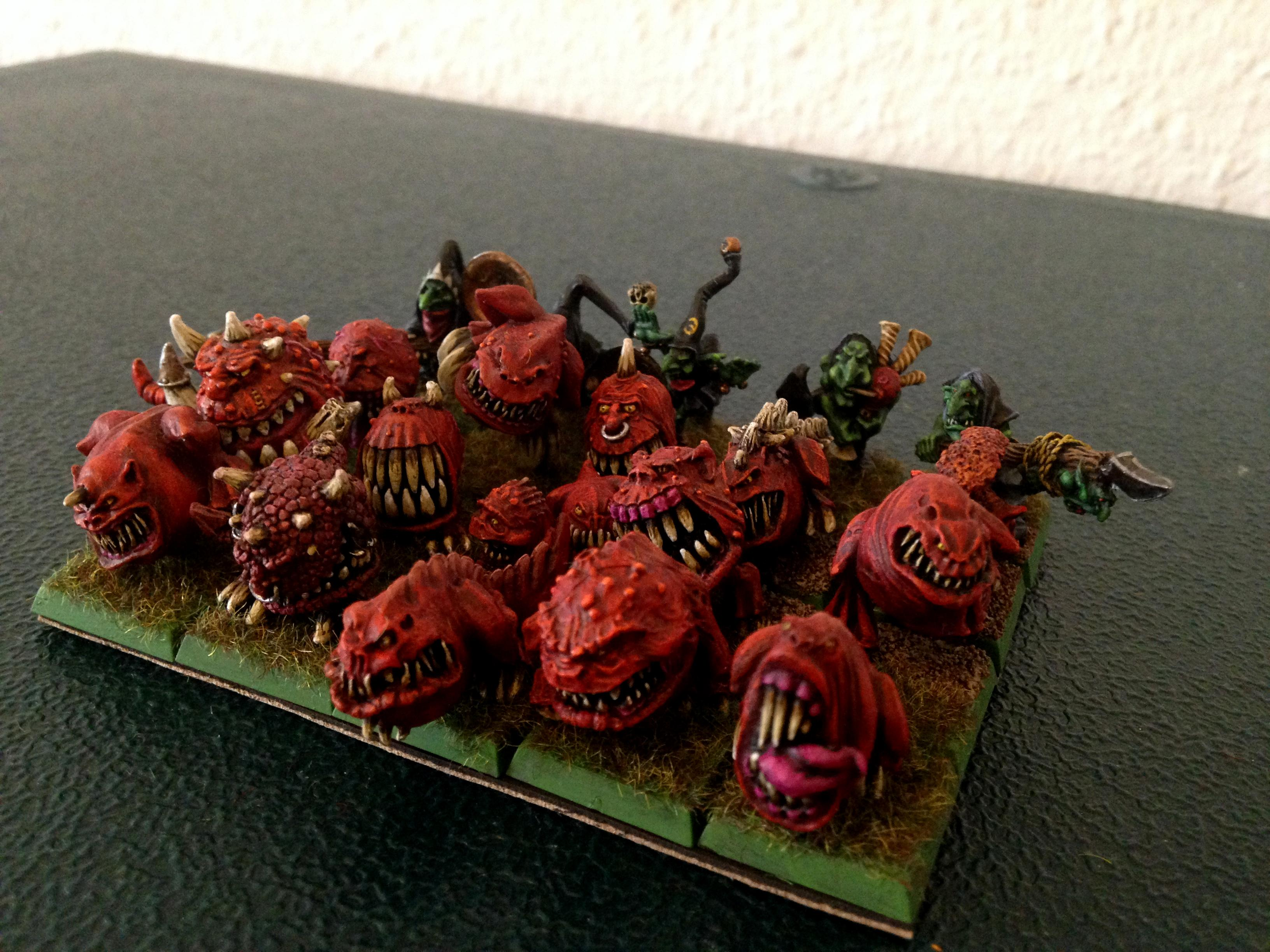 Orcs And Goblins, Squig Herd, Warhammer Fantasy