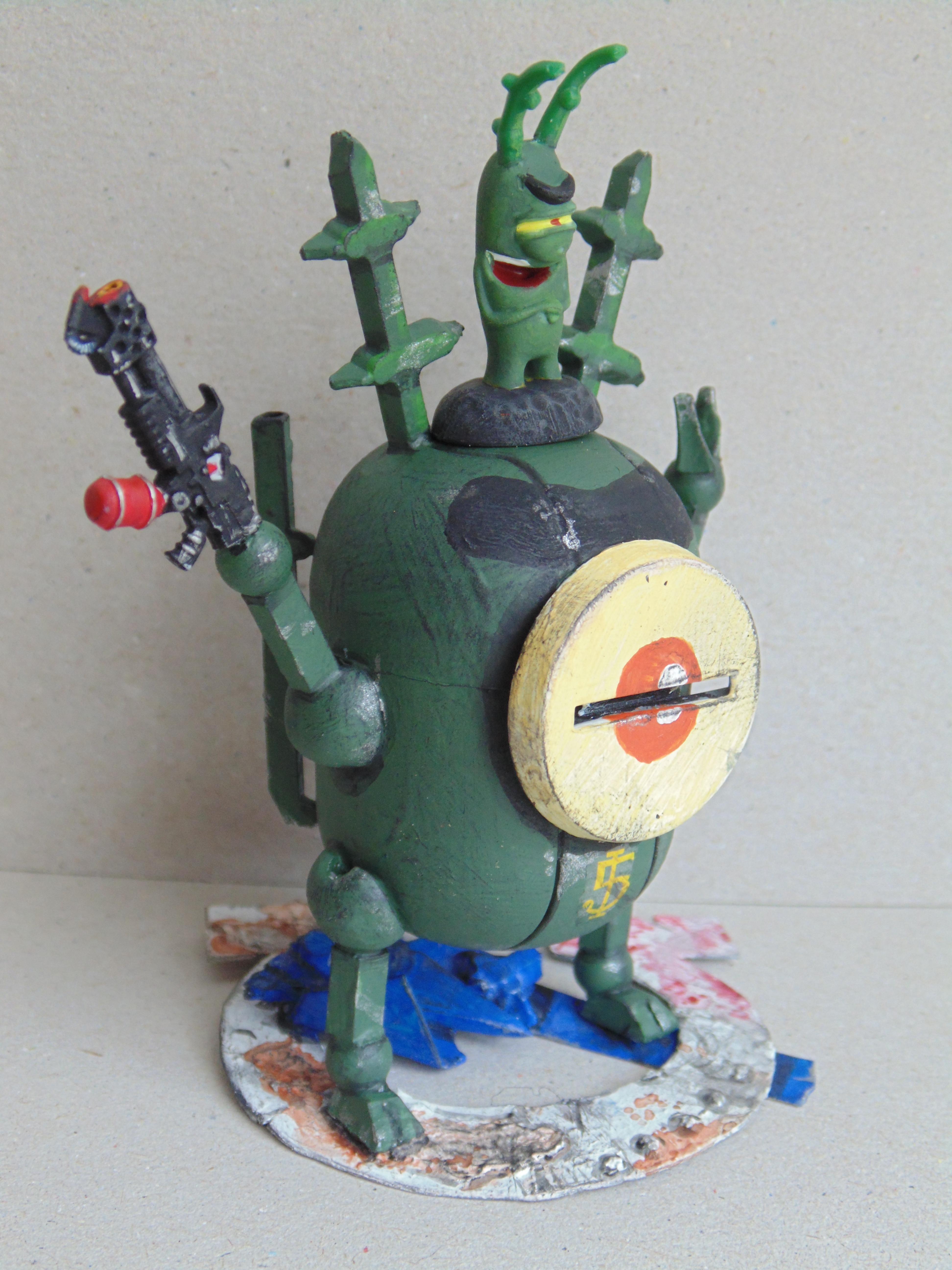 Bob, Conversion, Dreadnought, Fun, Humor, Imperial, Ogres, Ogryns, Plankton, Sponge
