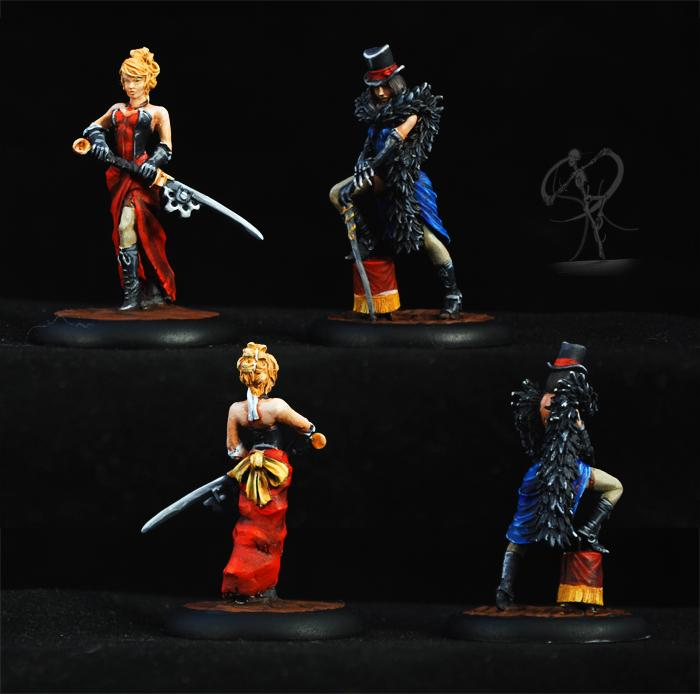 Arcanists, Cabaret, Dancers, Entertainers, Malifaux, Non-Metallic Metal, Performance, Showgirls