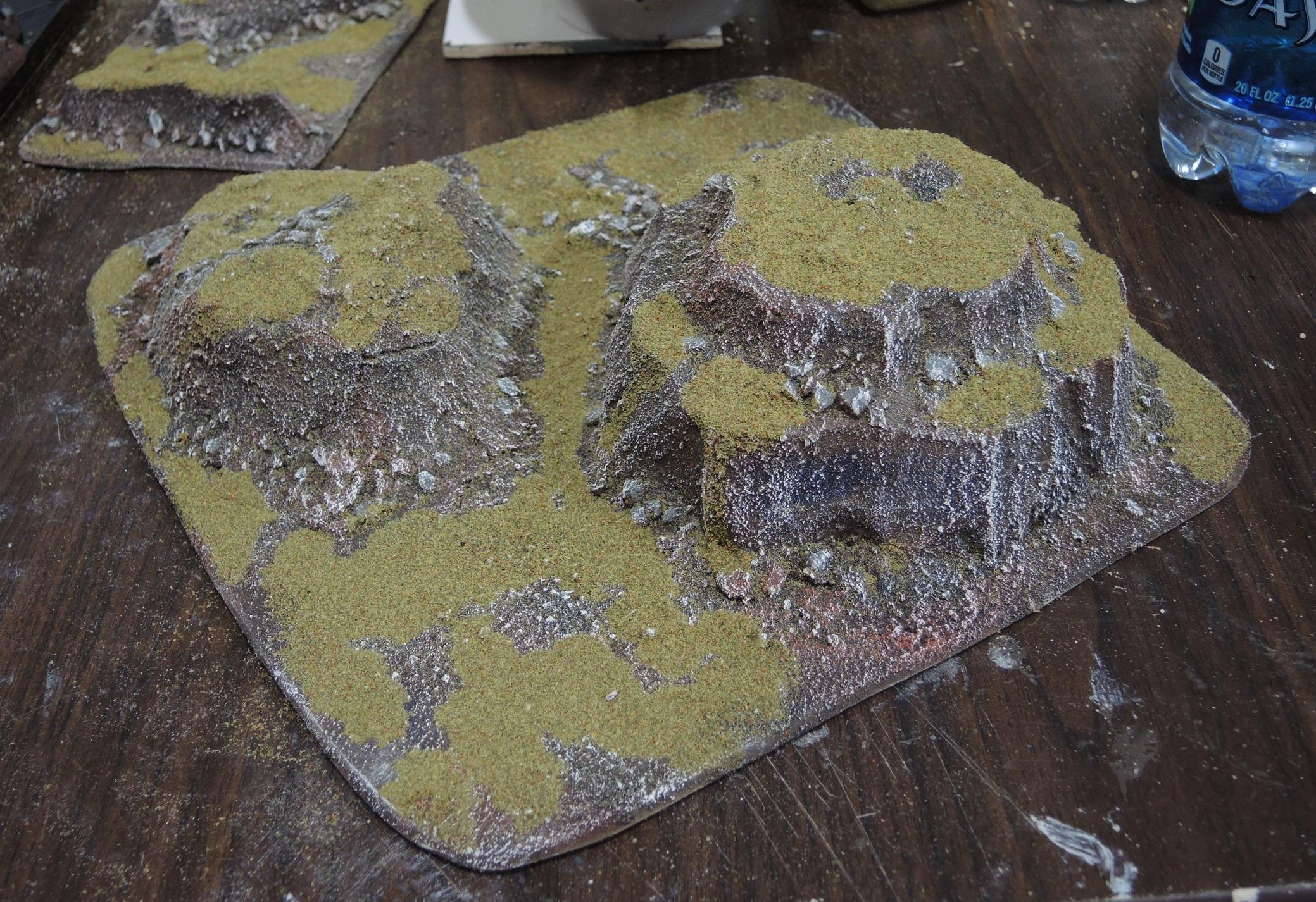 Alien, Big Hill, Buildings, Commission, Crags, Custom, Hills, Huts, Infinity, Jungles, Mountains, N3, Paradiso, Pip, Rocks, Scratch Build, Shanty, Terrain, Waaazag, Warhammer 40,000, Warhammer Fantasy, Work In Progress
