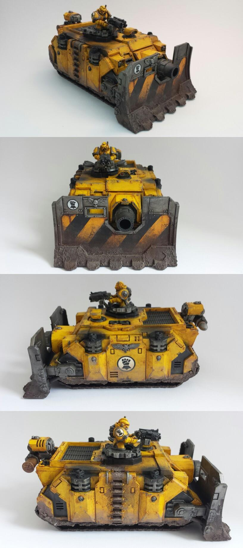 Imperial Fists, Space Marines, Vindicator, Warhammer 40,000