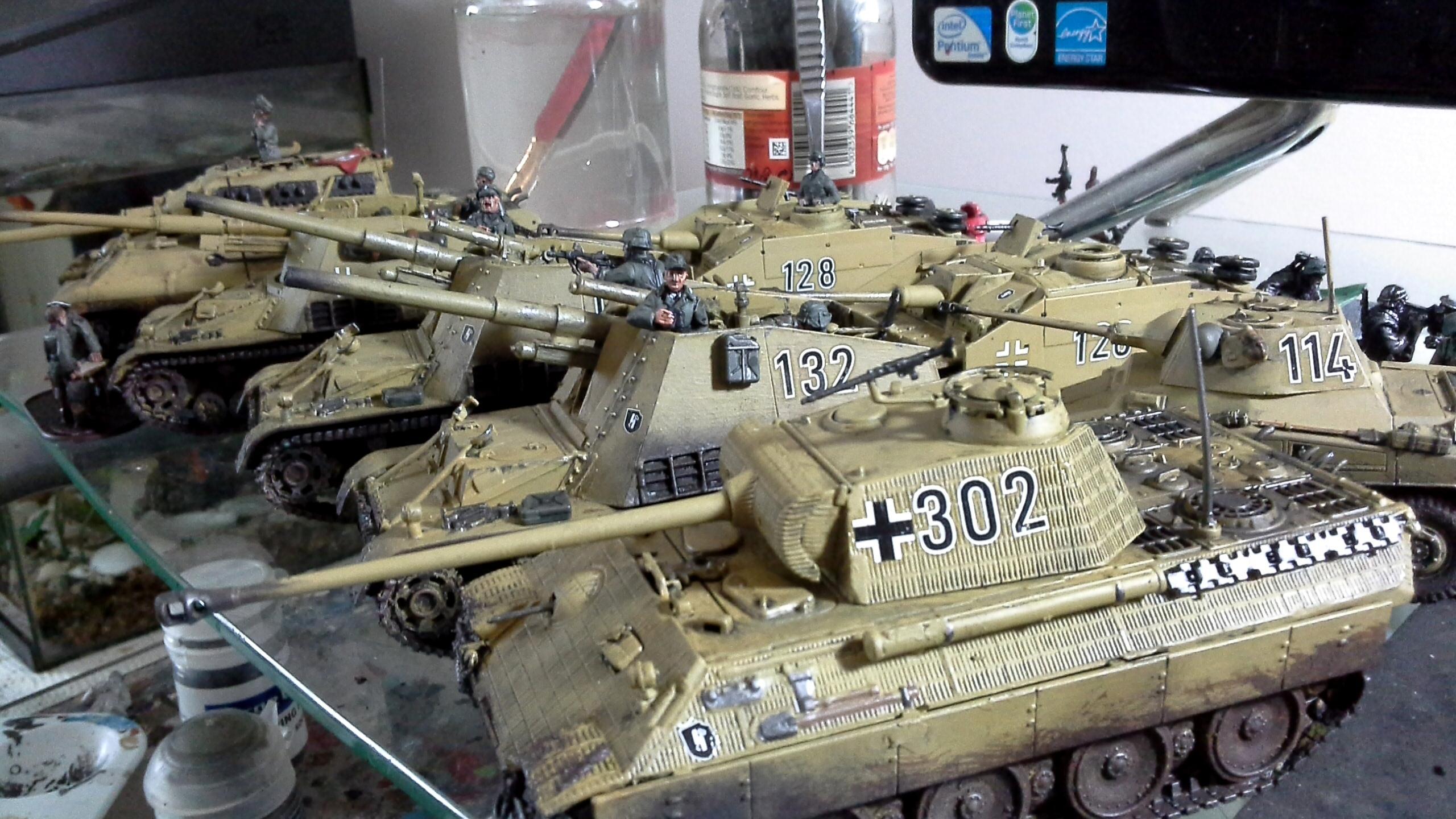 Bolt Action, German Tanks, Panther, World War 2