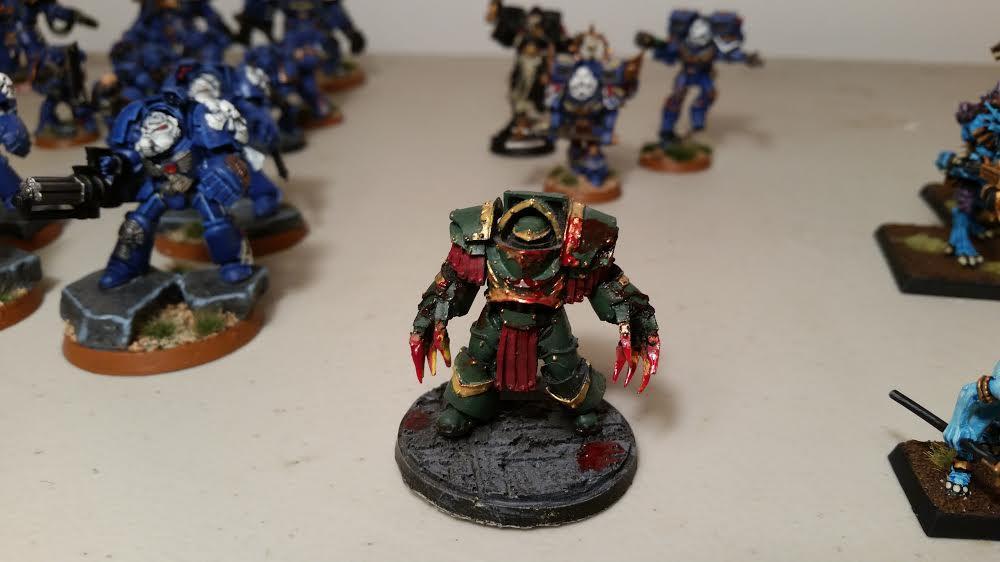 Blood, Lightning Claws, Terminator Armor