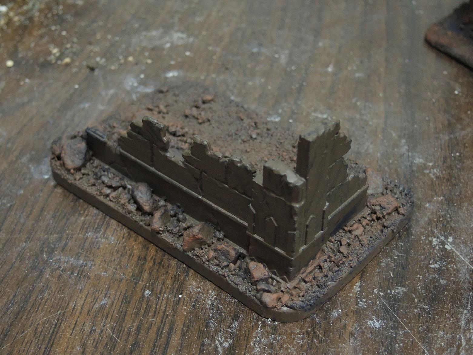 Commission, Commissioned, Game Table, Infinity, Ruins, Scratch Build, Terrain, Waaazag, Warhammer 40,000, Work In Progress
