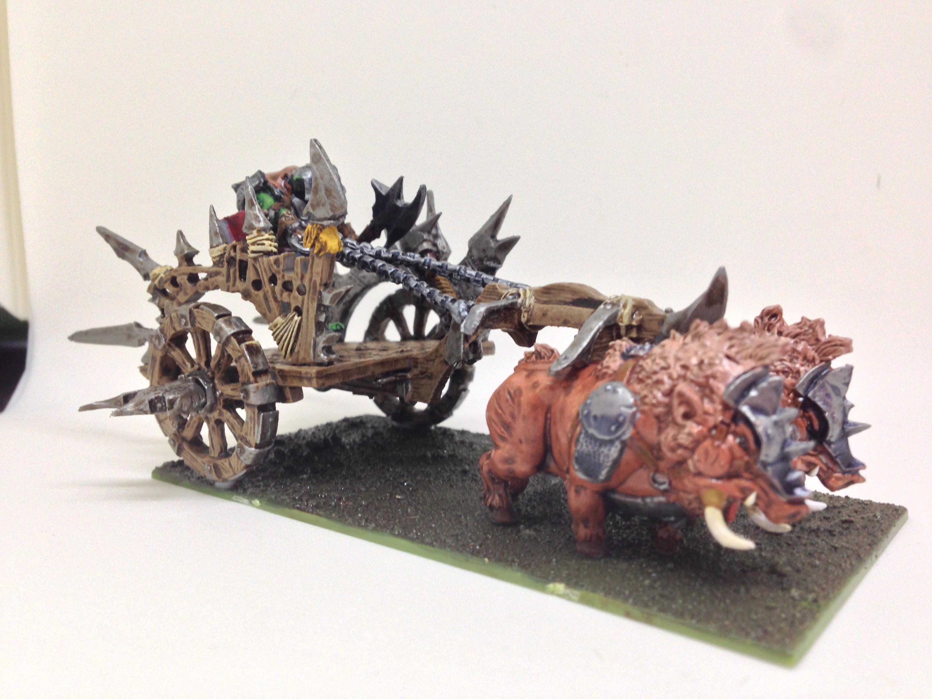 Chariot, Mantic, Orcs, Restic