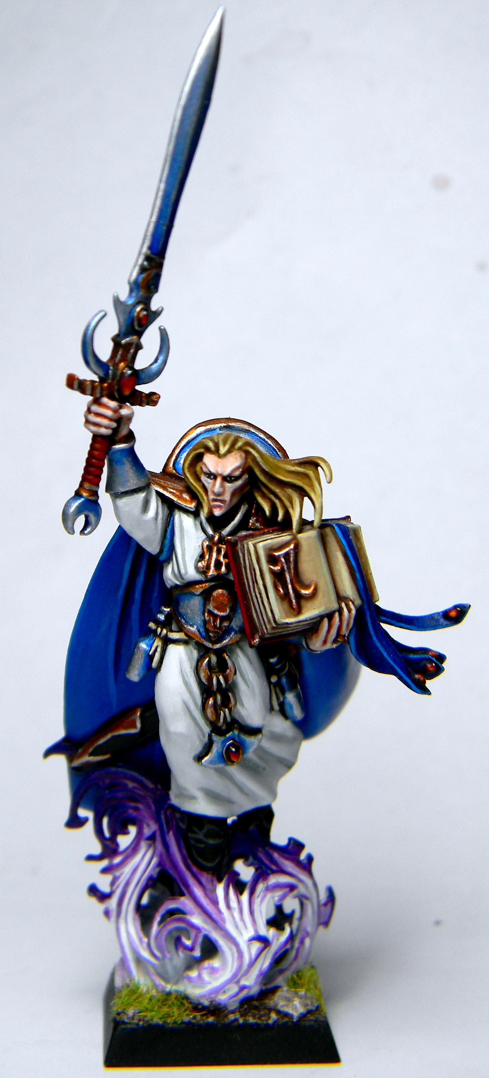 Conversion, High Elves, Island Of Blood, Loremaster, Mage, Warhammer Fantasy, Wizard